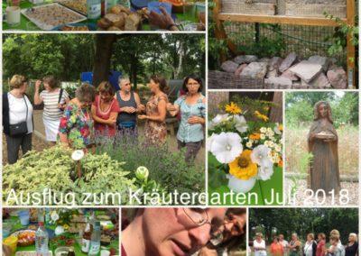 Ausflug zum Kräutergarten