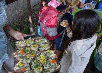 Besuch einer Kindergartengruppe